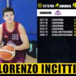 Pallacanestro: al Basketball Lamezia arriva in prestito Lorenzo Incitti
