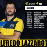 Pallacanestro: Basketball Lamezia conferma l'ala Alfredo Lazzarotti