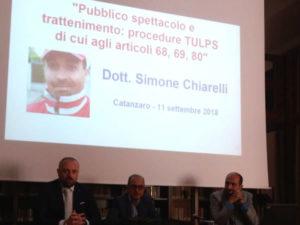 Catanzaro: corso formativo norme sicurezza pubblici spettacoli