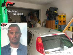 Furti auto: un arresto dei carabinieri a Tropea