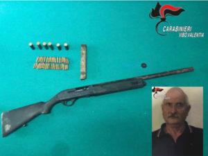 Armi: arsenale in un vecchio magazzino, arresto nel Vibonese