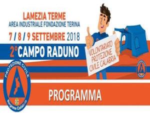 Protezione Civile: parte campo-raduno regionale con 1200 volontari