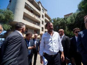 'Ndrangheta: liberato immobile confiscato occupato da clan Gallico