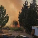 Incendi: spenti roghi che minacciavano abitazioni nel Crotonese