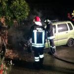 Incendi: a fuoco nella notte una Opel Agila nel Catanzarese