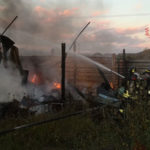 Incendi: a fuco a Pianopoli un capanno con struttura in legno