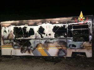Gizzeria Lido: a fuoco furgone ad uso rivendita di bibite e panini
