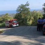 Incidenti stradali: auto in scarpata nel Vibonese, guidatore illeso