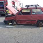 Incidenti stradali: scontro tra 2 auto nel Catanzarese sulla statale 106