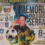 Lamezia: al via il memorial in ricordo di Paolo Serrato