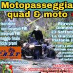 """Lamezia: III edizione della """"Motopasseggiata quad e moto"""" 2018"""