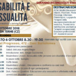 Lamezia: corso formativo disabilità e sessualità, 6 e 7 ottobre