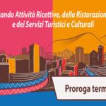 Regione: bando attivita' ricettive, prorogati i termini