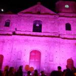 Tumori: Comune e Duomo di Borgia si tingono di rosa