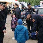 Lezione di sicurezza dei carabinieri durante l'Oktober fest