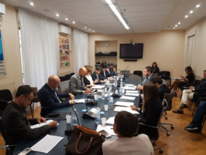 Mafie: Bova incontra Procuratore Nazionale Antimafia De Raho