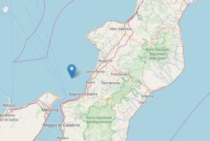Sisma di magnitude 3.1 a Palmi