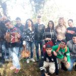 Scigliano, studenti Ipssasr alla XIV^ Sagra Castagna Carpanzano