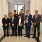 Meeting Drv a Reggio Calabria, Oliverio e Müller in Prefettura