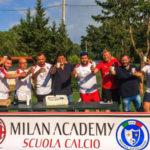 Calcio: primo corso Adelaide Lamezia Milan Academy