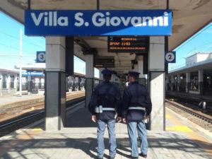 Latitante siciliano arrestato dalla Polfer a Villa San Giovanni
