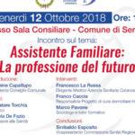 """""""Assistente familiare: la professione del futuro"""", convegno a Sersale"""