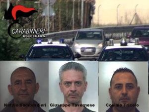 Sicurezza: controlli carabinieri Gruppo Locri, 3 arresti e 8 denunce