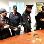 Armi e fucili, 48enne arrestato dai Carabinieri a Rende