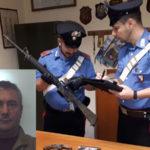 Armi: fucile e pistole in casa, un arresto nel Reggino