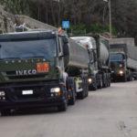 Maltempo: uomini e mezzi dell'Esercito in azione in Calabria