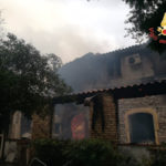 Incendi: rogo in Agriturismo distrutta zona ristorazione