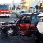 Lamezia: incidente stradale in via del Progresso, un ferito