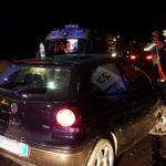Incidenti: auto contro new jersey e guardrail sulla 280, un ferito