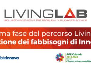 La Regione Calabria avvia il percorso Living Lab