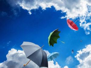 Il tempo: settimana di nuvole e pioggia, schiarite da venerdi'