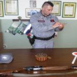 Armi nel parco d'Aspromonte, denunciate due persone