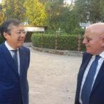 Regione: rappresentante ambasciata cinese in visita da Oliverio