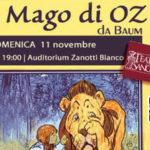 """Teatro: di scena il Mago di Oz"""" al """"Ragazzi MedFest"""""""