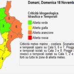 Maltempo: allerta arancione in Calabria, temporali e vento forte