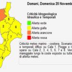 Maltempo: allerta 'arancione' su Lazio, Basilicata e Calabria