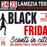 """Lamezia: domani il tradizionale appuntamento """"Black Friday"""""""