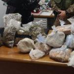 Droga: 2,5 kg di marijuana sequestrati nel Reggino