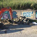 Catanzaro: ripuliti i canaloni in Viale Isonzo e Via Lucrezia Della Valle