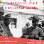 Reggio, Manifestazione i Carabinieri Reali e la Grande Guerra