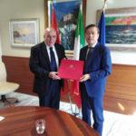Regione: Oliverio incontra il ministro consigliere cinese Li Bin