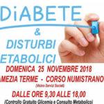 Giornata mondiale diabete, screening gratuito: Lions, Avis e ASP insieme