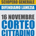 Lamezia: venerdì sciopero generale dei comitati cittadini