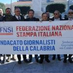"""Giornalisti: flash mob a Reggio Calabria, """"offesa dignita"""""""