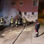 Auto distrutta da incendio nella notte a Catanzaro
