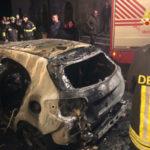 Auto distrutta da un incendio nel Catanzarese